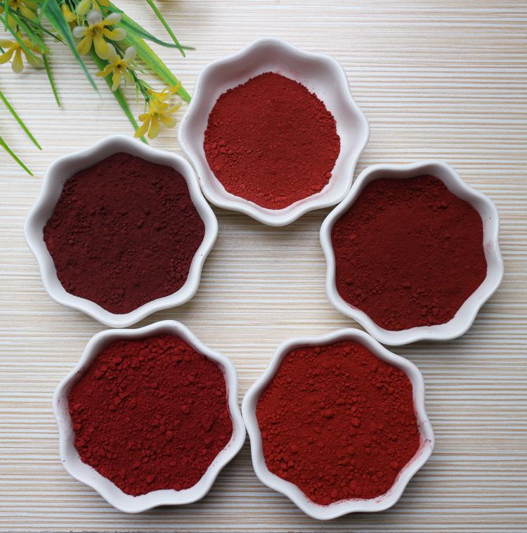 MAOXIANG Bột màu vô cơ Bán buôn cung cấp đa năng sắt oxit đỏ gốm sơn màu sơn gạch lớn thuận lợi