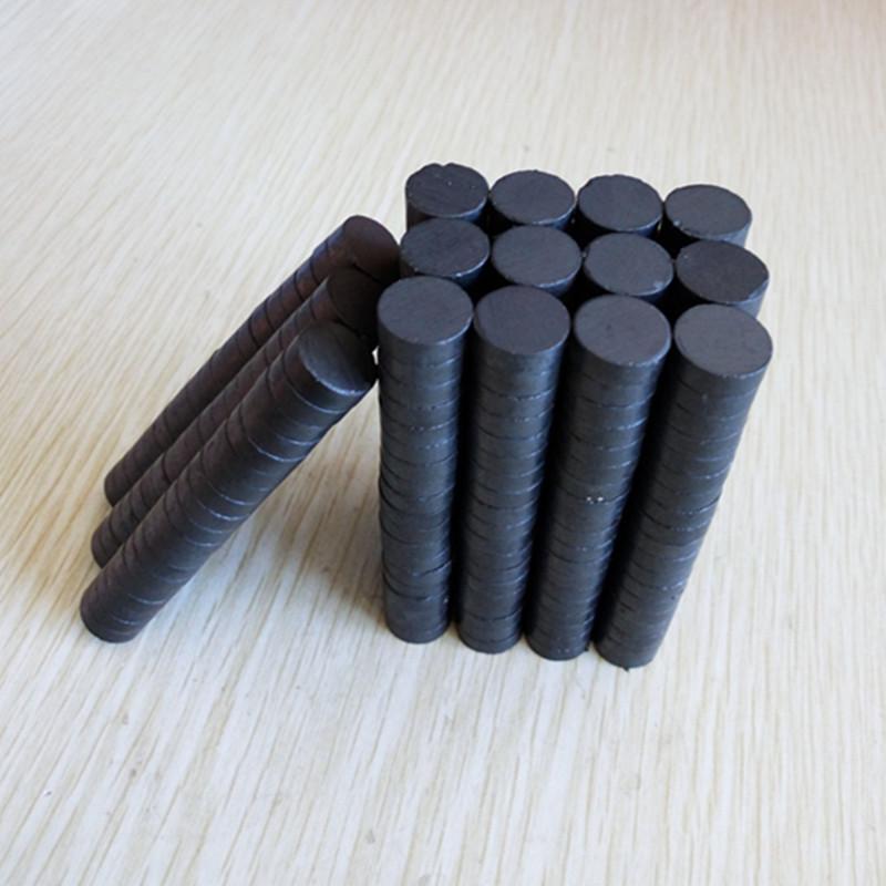 SHICHENG Sắt từ Nhà máy sản xuất nam châm đen từ tính trực tiếp wafer ferrite từ tính nam châm đen t