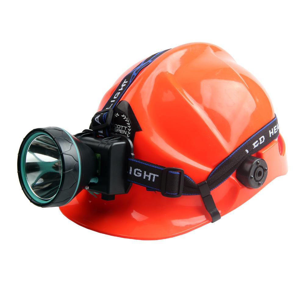 Đèn điện, đèn sạc Đèn pha LED chói lóa săn bắn đèn vàng ánh sáng tìm kiếm có thể sạc lại đèn pin tầm