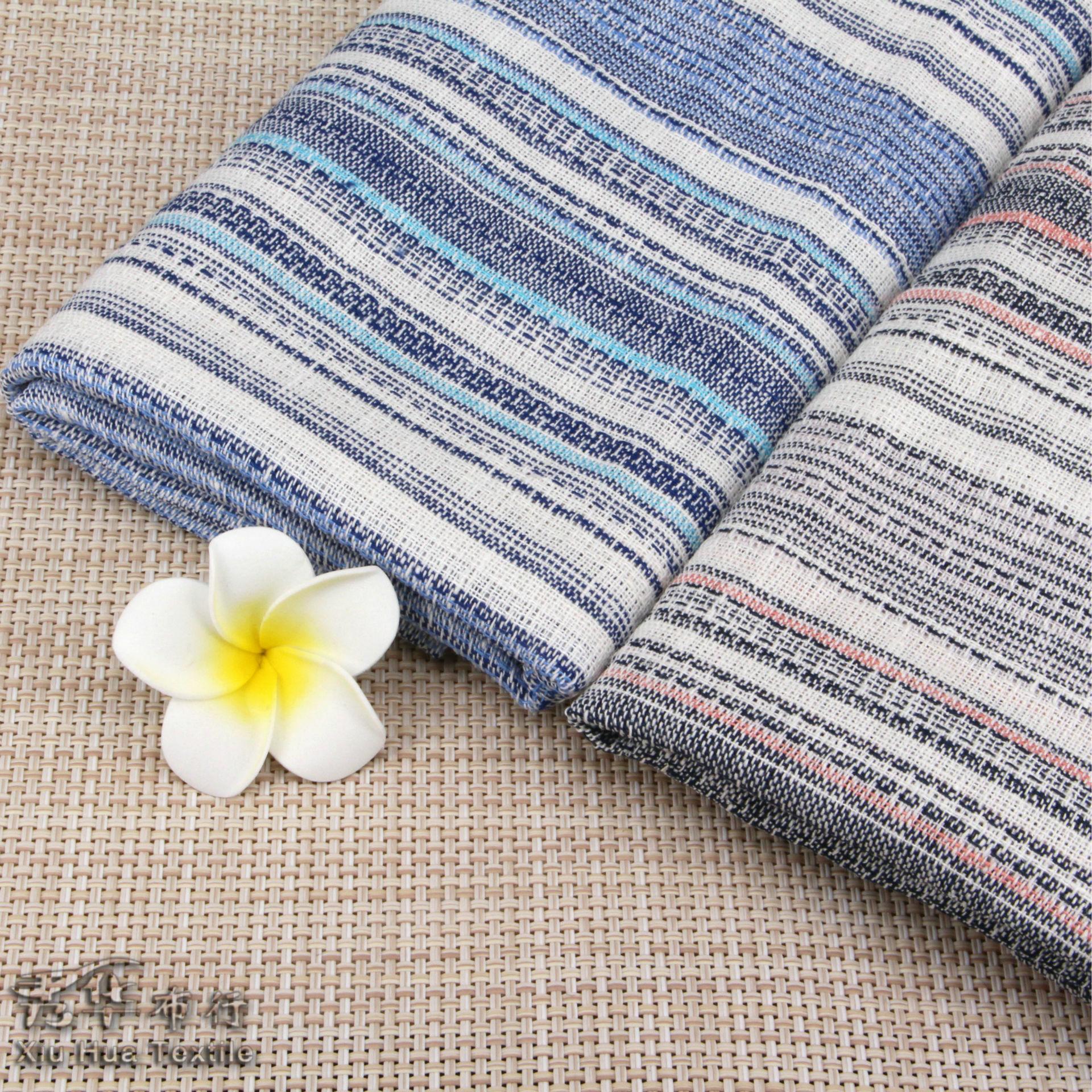 Vải Cotton pha Vải cotton và vải lanh pha trộn Vải cotton châu Á và dải vải lanh Sợi dệt bằng vải dệ