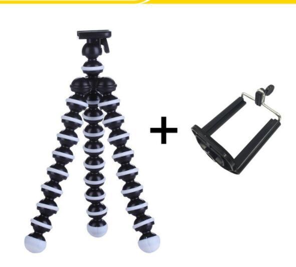 Chân giá đỡ Giá đỡ điện thoại tripod chân bạch tuộc đa năng đứng trên mọi địa hình các cỡ