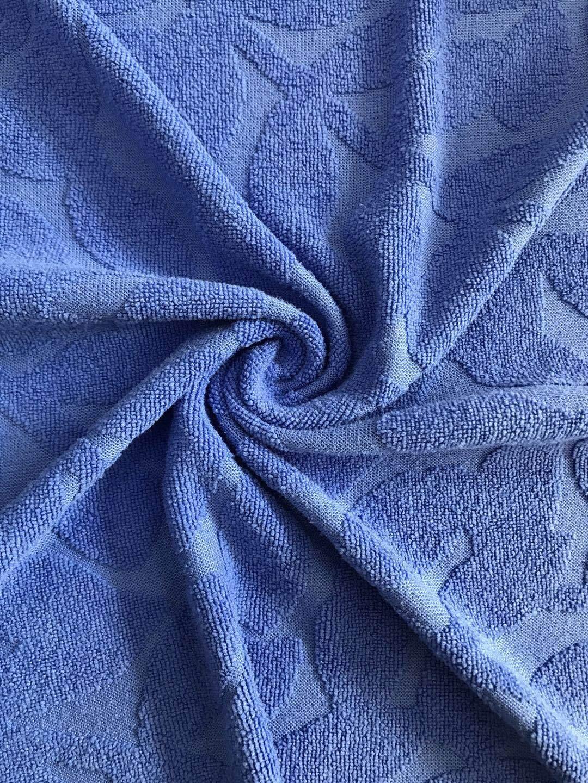 HEGUI Vải khăn lông Nhà máy trực tiếp, sợi dệt polyester, lá một mặt, jacquard, vải terry, một vải p