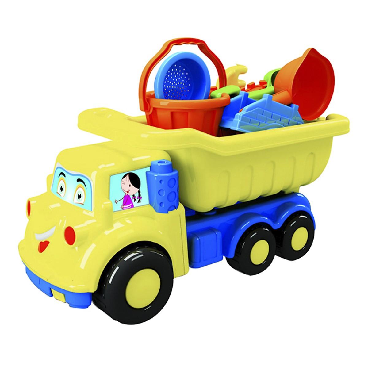 Xe đồ chơi (L8-Đồ Chơi Bãi Biển) - M1296-LR cho bé .