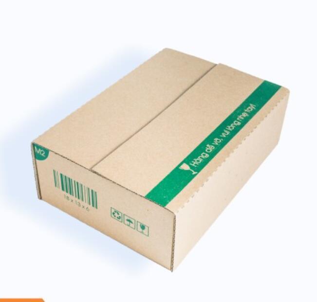 Hộp giấy M2 - 18x13x6 Cm - 25 Hộp Carton Thùng Carton