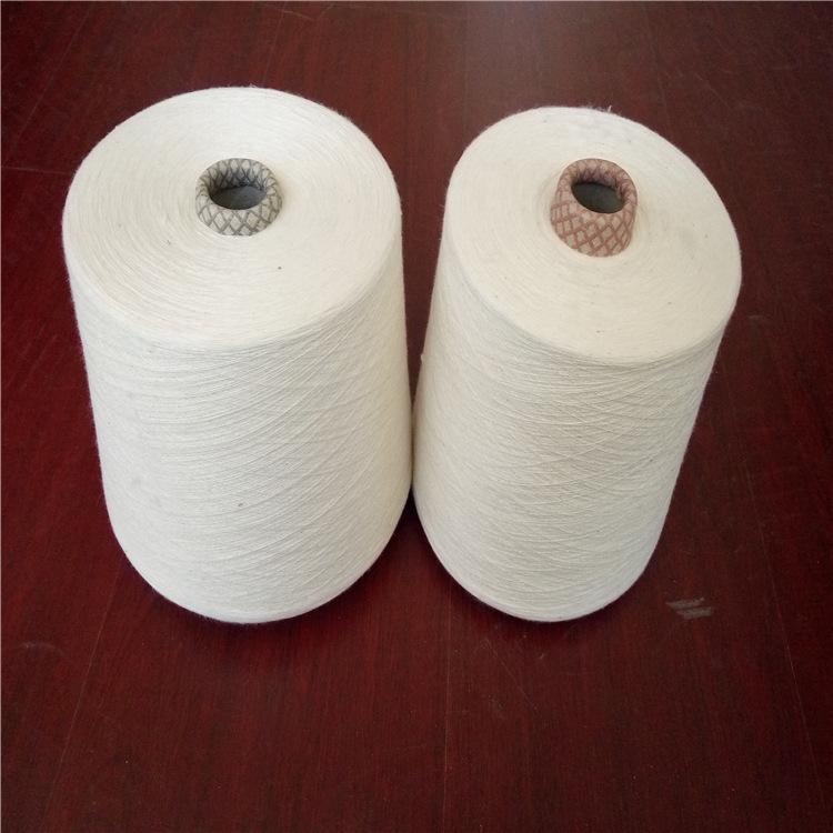 WEIFANG Sợi gai 16 miếng sợi bông xoáy 30 sợi 16 sợi vải lanh pha trộn sợi polyester 32 sợi len pha