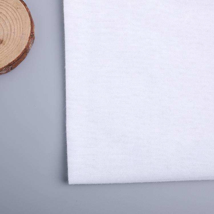 LUOYOU Vải Jersey Tại chỗ 32S sợi polyester đầy đủ tro áo lót vải tổng hợp quần áo nhà quần áo vải g