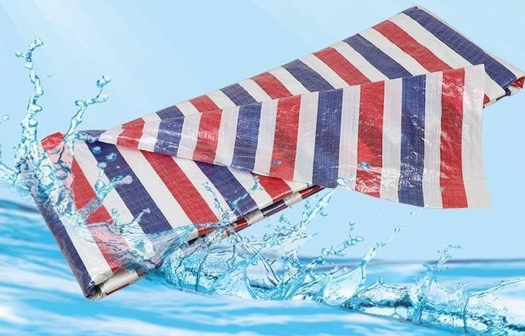 Bạt nhựa Dải màu vải vải mưa không thấm nước vải bạt che nắng vải nhựa ba màu vải mưa vải đặc biệt n