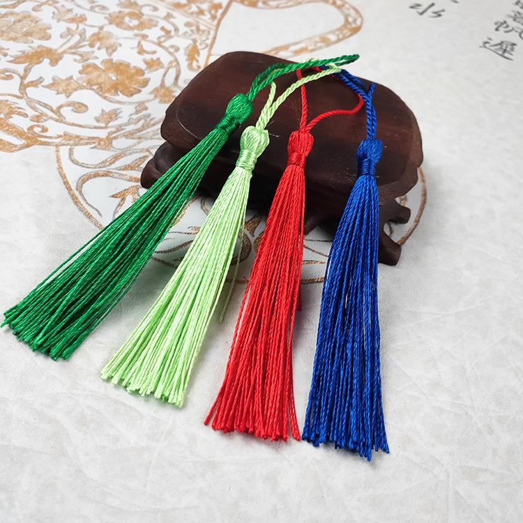 sợi tua Nhà máy trực tiếp dọc Trung Quốc thắt nút treo tai tai phụ kiện quần áo phụ kiện tua rua nhỏ