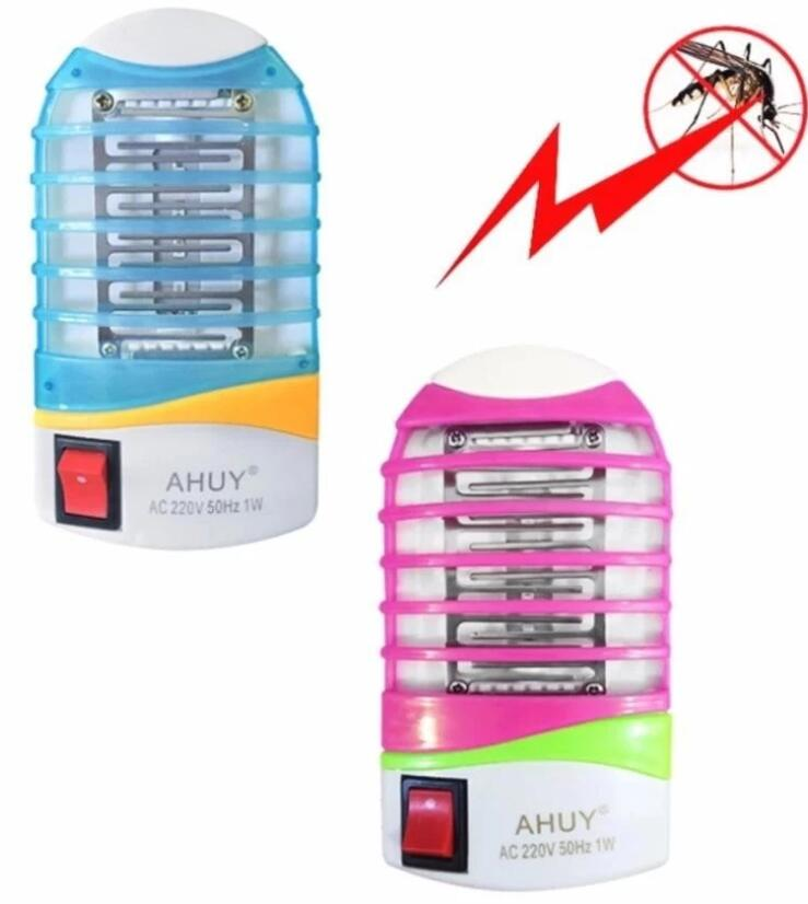 Đèn diệt muỗi Bộ 2 Đèn Bắt Muỗi, Diệt Côn Trùng AHUY Loại Tốt