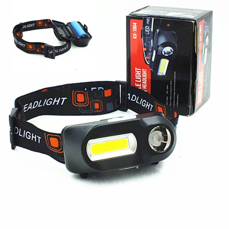 Đèn điện, đèn sạc Giao diện USB đa chức năng sạc đèn pha COB Đèn pin khẩn cấp ngoài trời gắn đèn pin