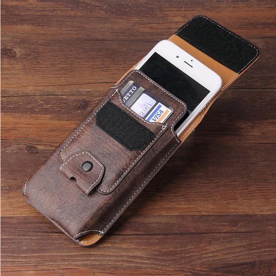 Bao da đeo hông đựng điện thoại