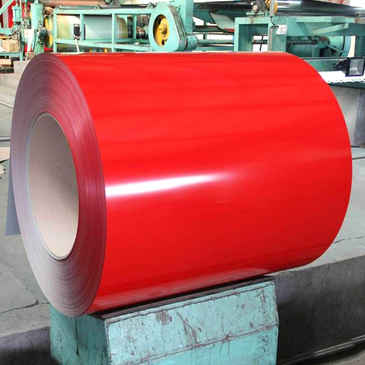 Mạ màu Sản xuất tấm in màu tráng thép tráng màng sơn màu thép tấm SGCC màu tráng cuộn thiết bị gia d