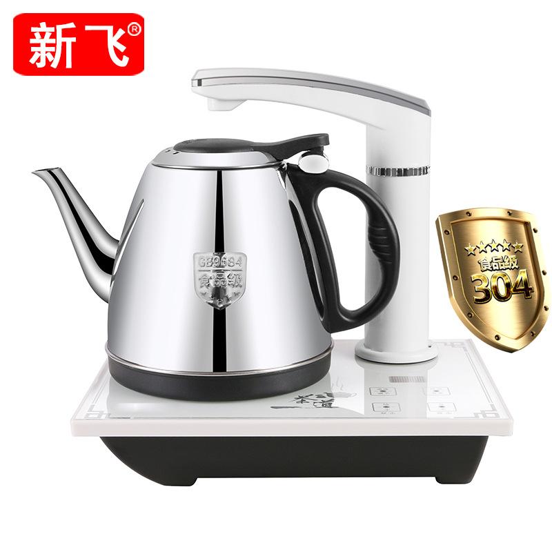XINFEI Nồi lẩu điện, đa năng, bếp và vỉ nướng Xinfei automatic water electric kettle tea set home in