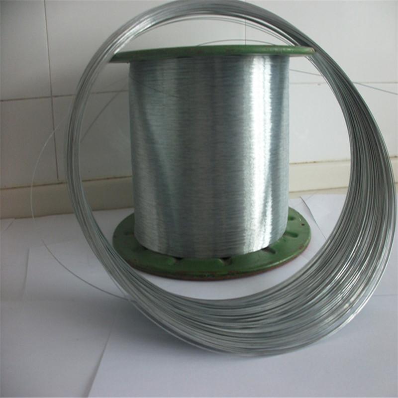 Dây kim loại Nhà máy trực tiếp dây thép mạ kẽm Dây thép mạ kẽm nhúng nóng Dây thép tùy chỉnh