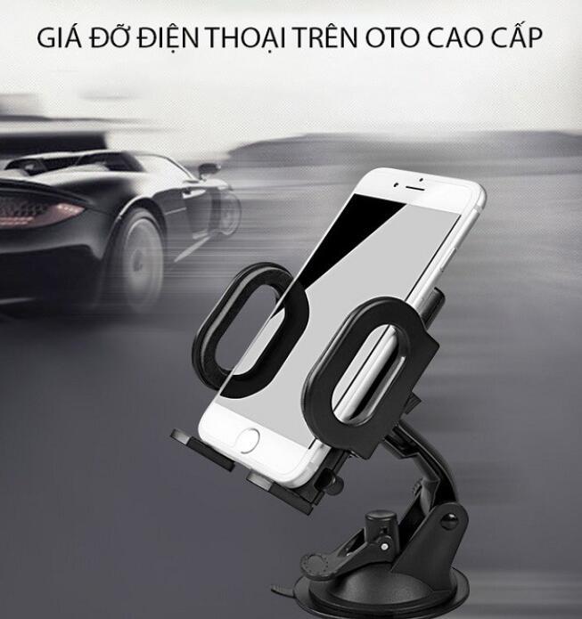 Chân giá đỡ Giá đỡ điện thoại (đa năng) trên oto xe hơi Agiadep