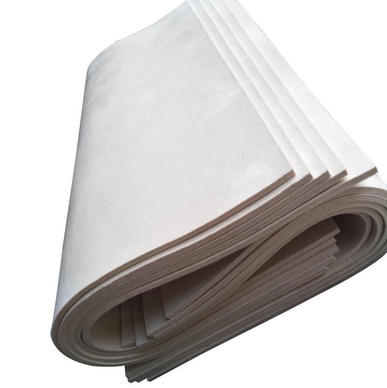 CHANGRUN thảm lông Nỉ công nghiệp hấp thụ dầu pha trộn cảm thấy bộ lọc mật độ cao tùy chỉnh niêm pho