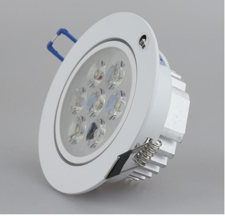 Đèn rọi Đèn led downlight rọi HT-C7R 7w lỗ khoét D90