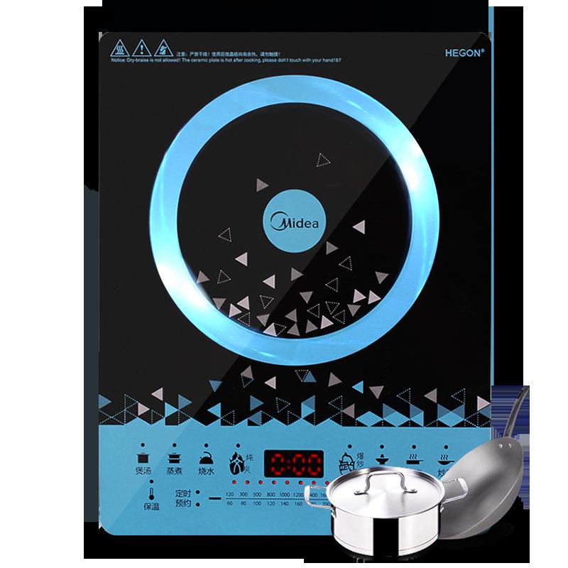 Bếp điện từ Hoa Kỳ C21-WT2112T / wt2118 cảm ứng nồi lẩu pin wok