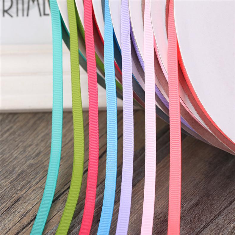 FEIKE đai , dây , chỉ Ruy băng 6 mm tự làm nơ phụ kiện tóc chủ đề với thẻ ruy băng phụ kiện quần áo