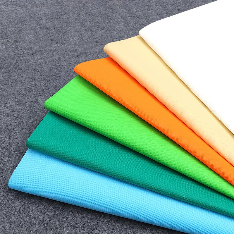 Vải không dệt Pp ngoại quan kéo sợi không dệt bán buôn 25-160 g bao bì chống bụi vải không dệt túi n