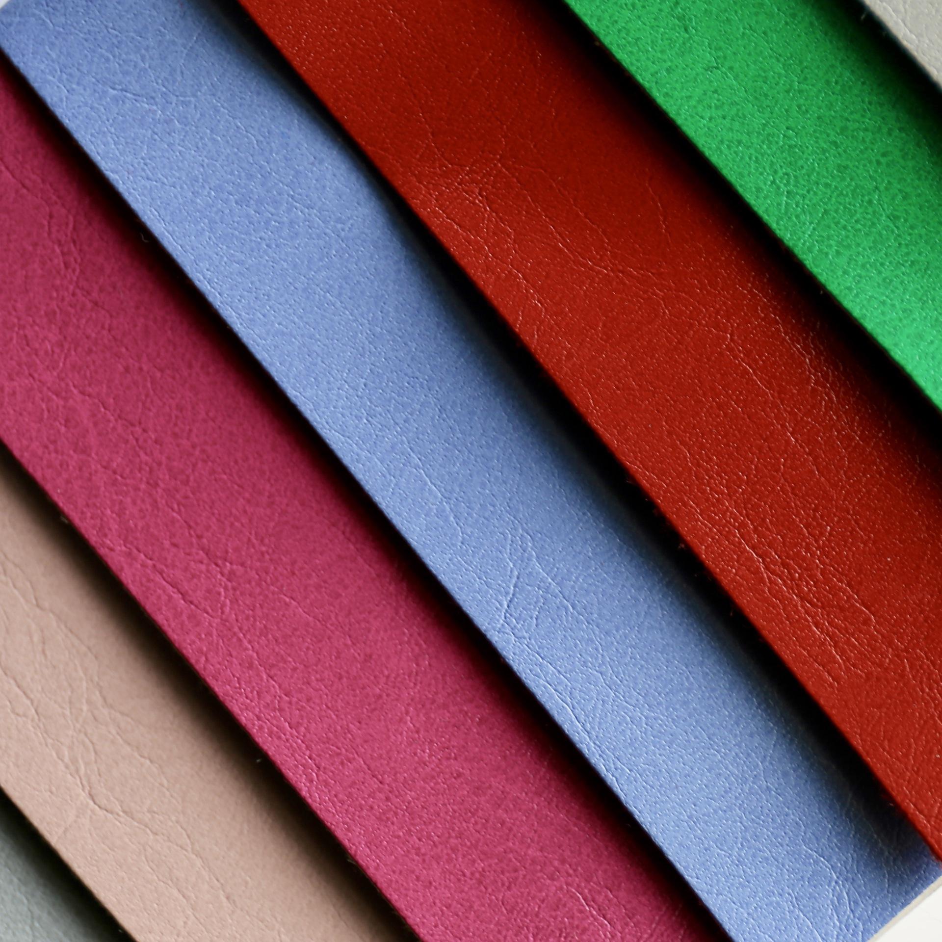 HENGXIAO Simili tổng hợp Da PU đa dạng Độ dày 0,3mm ~ 2,0mm Chiều rộng vải da 137cm Dầu sáp da tổng