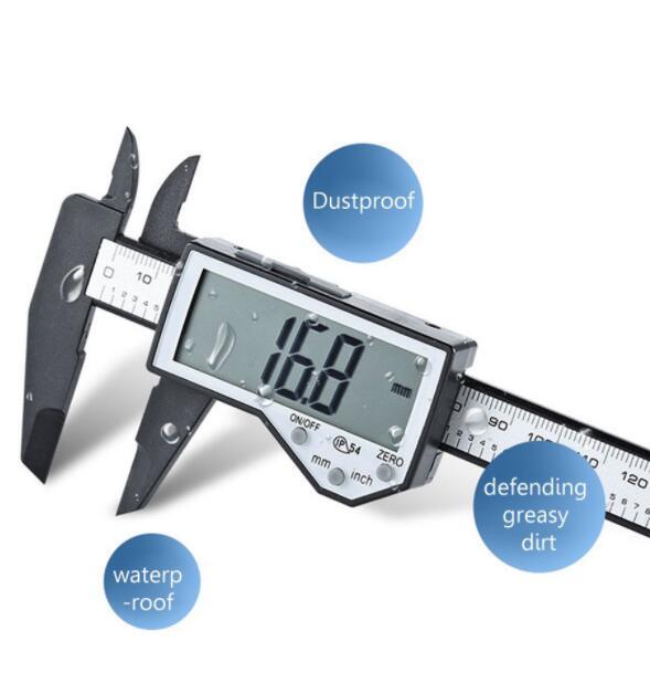 Thước kẹp điện tử đo ngoài màn hình LCD IP54 lớn chống thấm nước tiện lợi