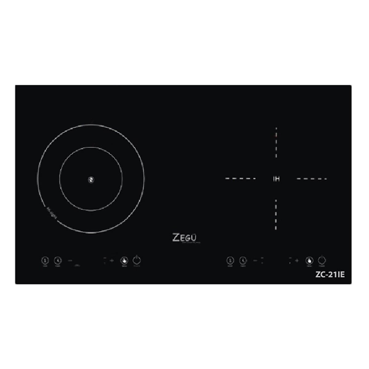 Bếp Từ Hồng Ngoại Kết Hợp Zegu ZC-21IE