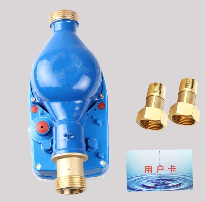Đồng hồ nước IC mét trả phí cảm chống nước .