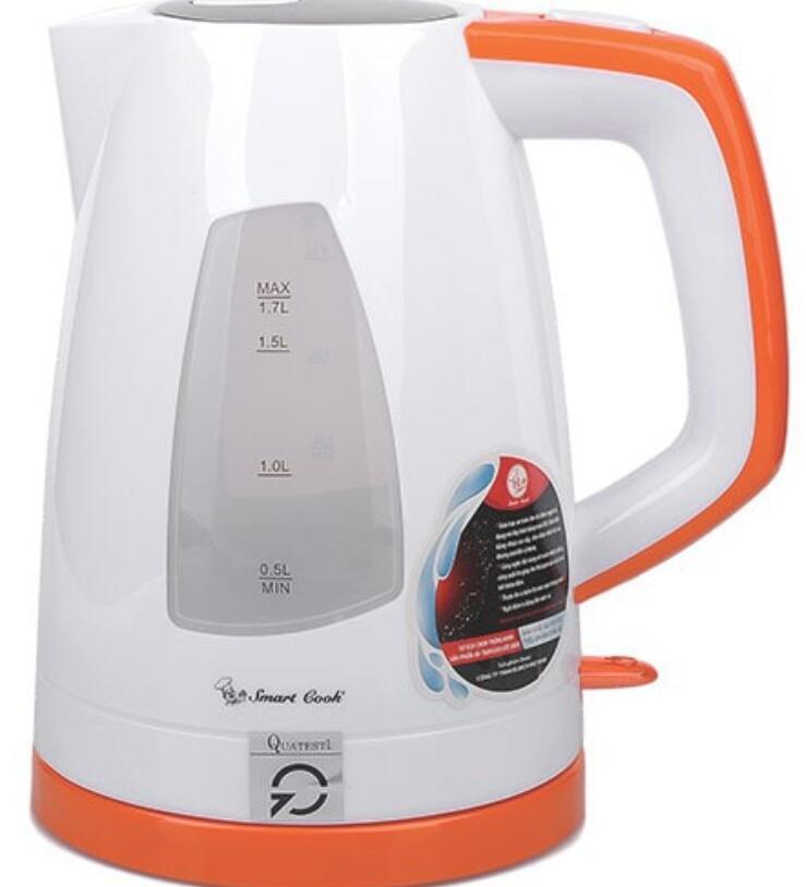 Ấm,bình đun siêu tốc Bình Đun Siêu Tốc Smartcook 1.7 Lít KES-6870 - Hàng Chính Hãng