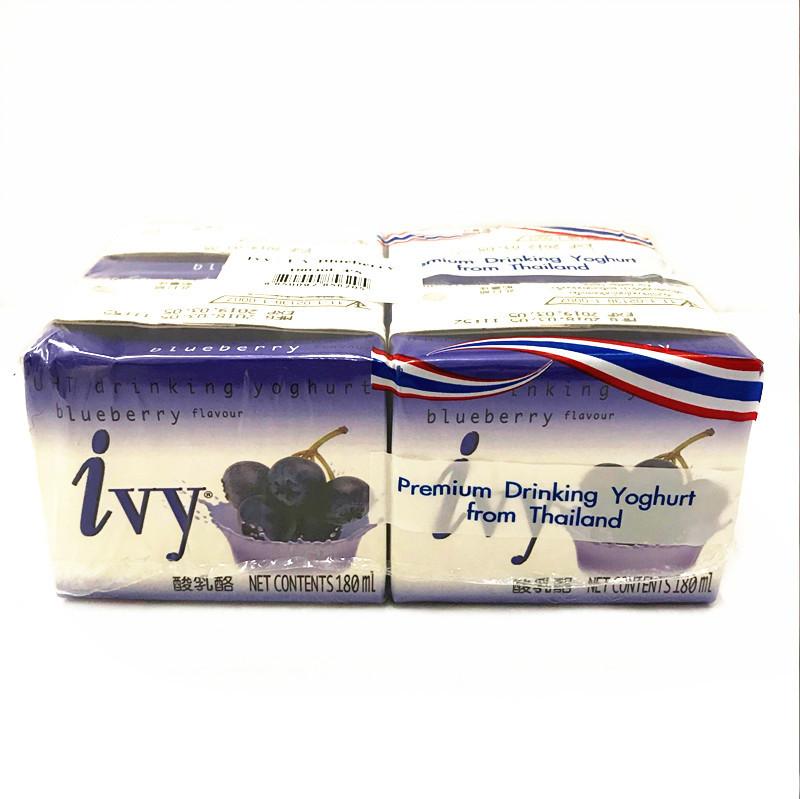 Sữa chua việt quất Nhập khẩu Ivy Aifei / 180m * 48 Hộp