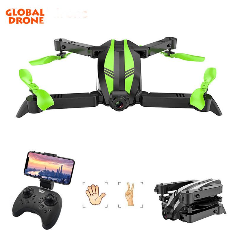 Global Drone Flycam Máy bay không người lái toàn cầu GW68 mới gấp máy bay không người lái chụp ảnh t