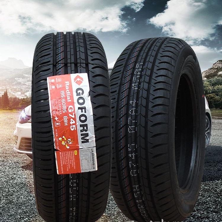 Guofeng Bánh xe Shandong Guofeng G745 195 / 55R15 lốp xe ô tô bán thép chân không lốp nguyên bản ba