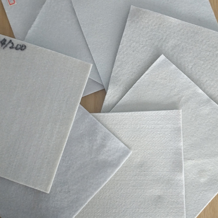 YAOHUA Vải không dệt Vải chống thấm đất ngắn nhà sản xuất vải địa kỹ thuật tiêu chuẩn GB vải không d