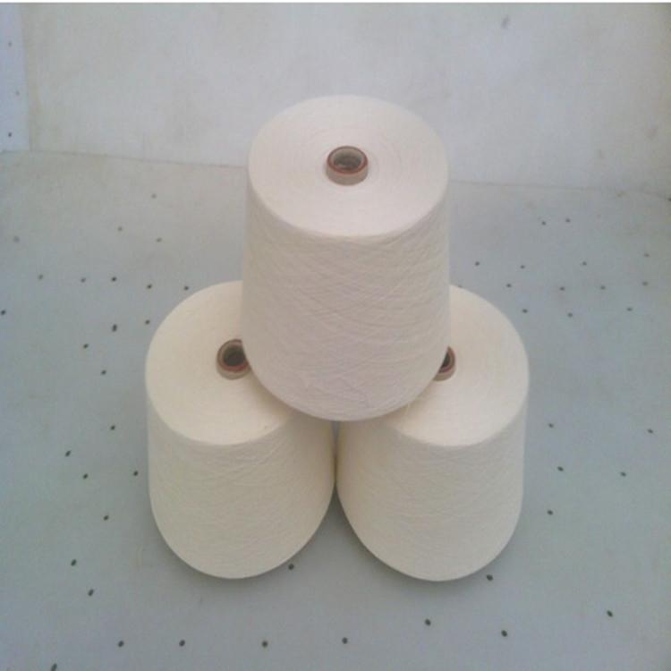 Sợi pha , sợi tổng hợp Bông pha trộn sợi acrylic Sợi pha trộn Sợi bông acrylic