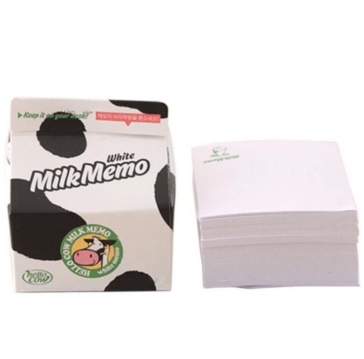 Giấy Note Hình Hộp Sữa