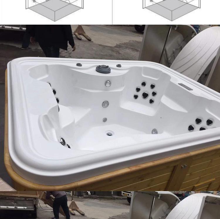 Bồn Tắm massage Thông minh Thiết kế sang Trọng dành cho phòng Tắm của bạn .