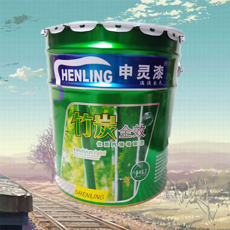Nippon Sơn trắng 18L nấm mốc sạch hương vị thân thiện với môi trường sơn tường latex sơn tường