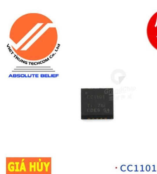 Chíp IC CC1101RGPR QFN-20 IC Chip