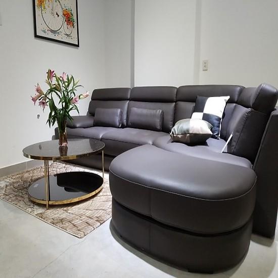 Ghế Sofa da thật Ruche