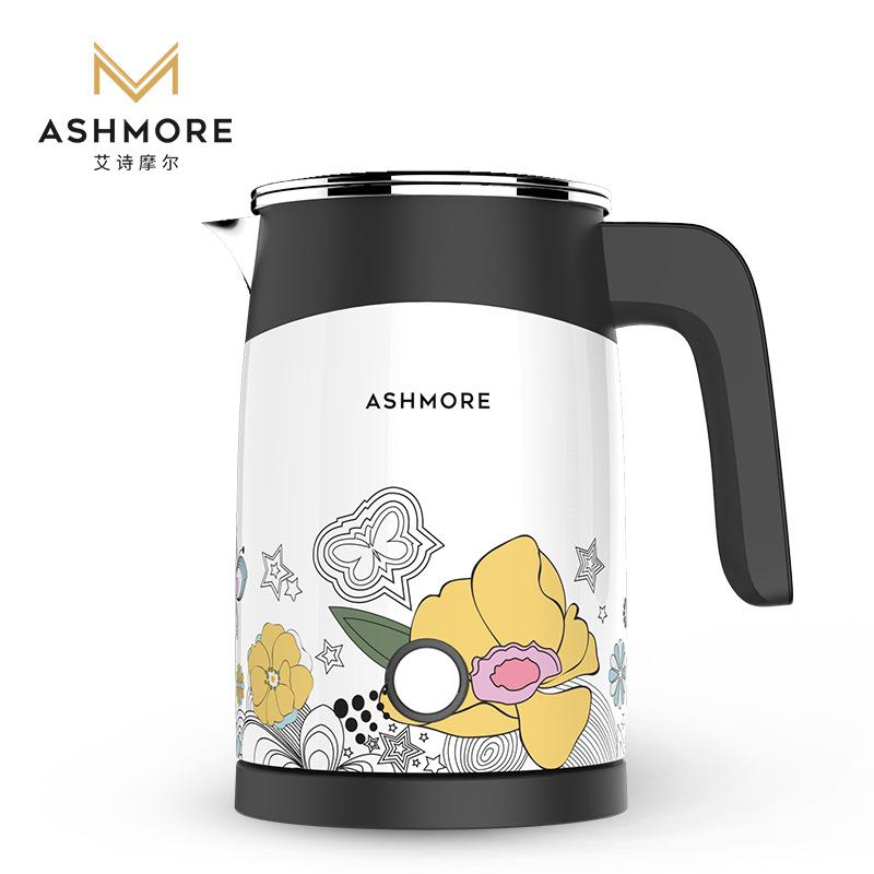 ASHMORE Nồi lẩu điện, đa năng, bếp và vỉ nướng mini portable electric kettle health pot home travel
