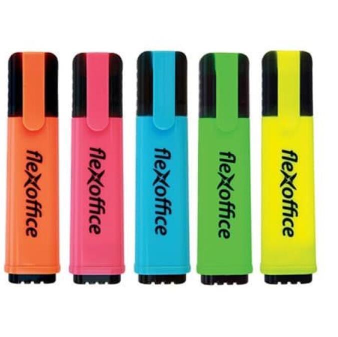 Bút dạ quang Combo bút dạ quang đủ màu