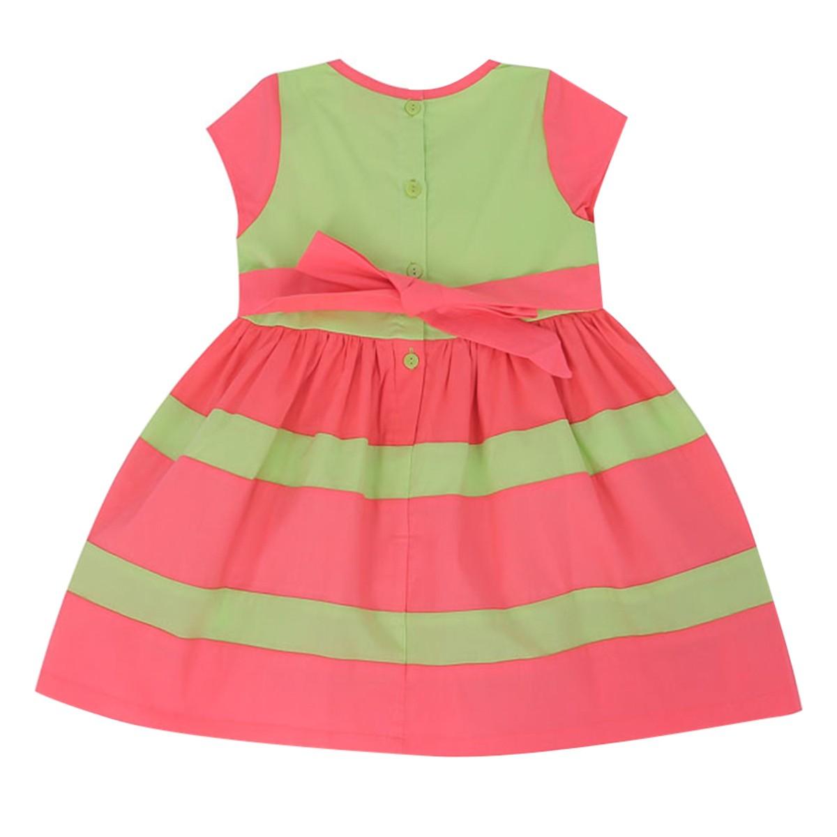 Đầm Trẻ Em Tay Ngắn VTA Kids BG70810-XL10 - Xanh lá