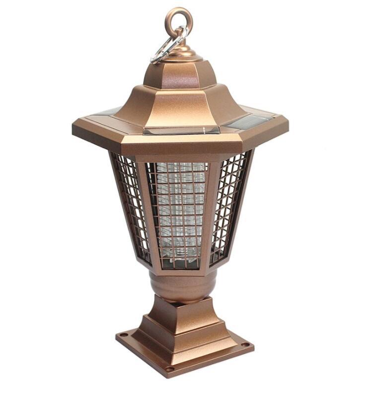 Đèn diệt muỗi Đèn LED Diệt Muỗi Ngoài Trời Bằng Năng Lượng Mặt Trời