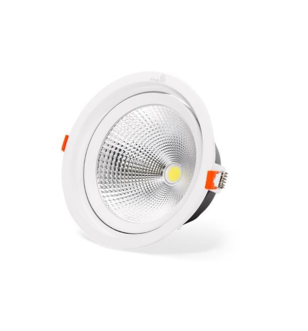 Đèn rọi ĐÈN LED SPOTLIGHT TRÒN ÂM TRẦN RỌI MẮT COB - KINGLED 30W (DLR-30-T180)