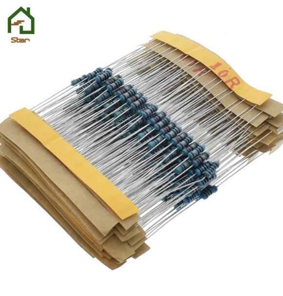 điện trở 1 % kim loại 10 -1m Ohm 1 / 4W chịu lực 30 loại