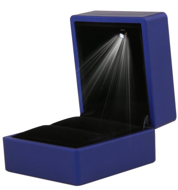 Hộp giấy Hộp Đựng Nhẫn Có Đèn LED