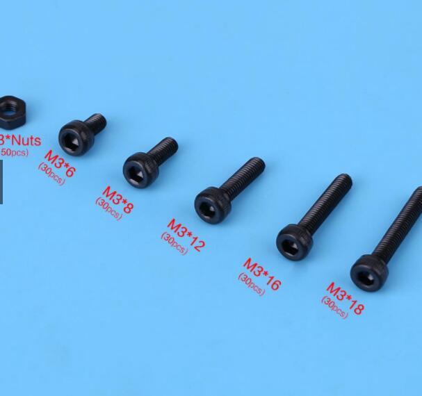 Ốc vít Set 150 con bu lông ốc vít M2 ~ M5 cao cấp tiện dụng