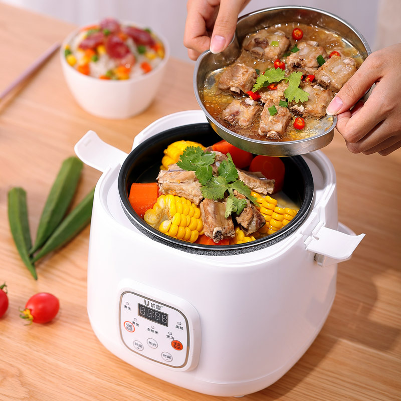 You Xue Nồi cơm điện electrical multi-function intelligent mini rice cooker small household applianc