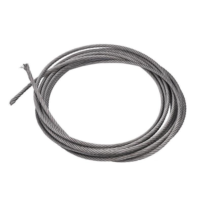 GUANGCHUN Dây kim loại Dây thép không gỉ 304 dây thép kéo dây kéo dây cáp axit và chống mài mòn và r