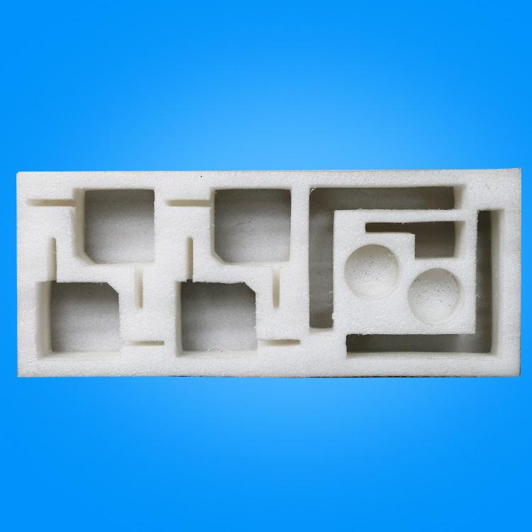 JINGYANG Vật liệu dị dạng Pearl cotton thiết bị gia dụng định hình lót LED ống bao bì bông chịu mài